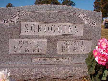 SCROGGINS, GUSSIE L - Dallas County, Arkansas | GUSSIE L SCROGGINS - Arkansas Gravestone Photos