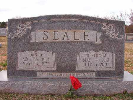 SEALE, BERTHA M - Dallas County, Arkansas | BERTHA M SEALE - Arkansas Gravestone Photos