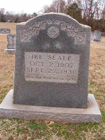 SEALE, IKE - Dallas County, Arkansas | IKE SEALE - Arkansas Gravestone Photos