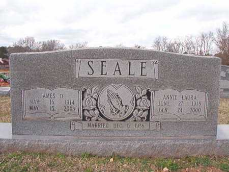 SEALE, ANNIE LAURA - Dallas County, Arkansas | ANNIE LAURA SEALE - Arkansas Gravestone Photos