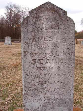 SEALE, JAMES S - Dallas County, Arkansas   JAMES S SEALE - Arkansas Gravestone Photos
