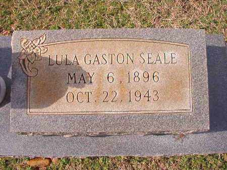 GASTON SEALE, LULA - Dallas County, Arkansas | LULA GASTON SEALE - Arkansas Gravestone Photos