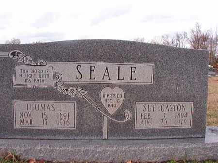 GASTON SEALE, SUE - Dallas County, Arkansas | SUE GASTON SEALE - Arkansas Gravestone Photos