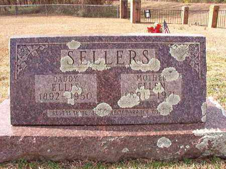 SELLERS, ELLEN - Dallas County, Arkansas | ELLEN SELLERS - Arkansas Gravestone Photos