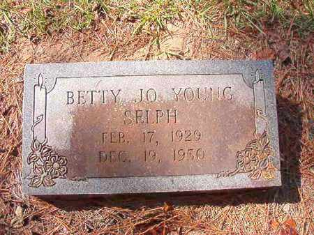 SELPH, BETTY JO - Dallas County, Arkansas | BETTY JO SELPH - Arkansas Gravestone Photos