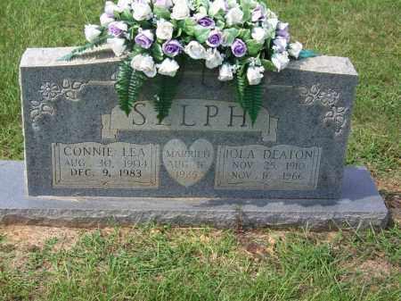 DEATON SELPH, IOLA - Dallas County, Arkansas | IOLA DEATON SELPH - Arkansas Gravestone Photos