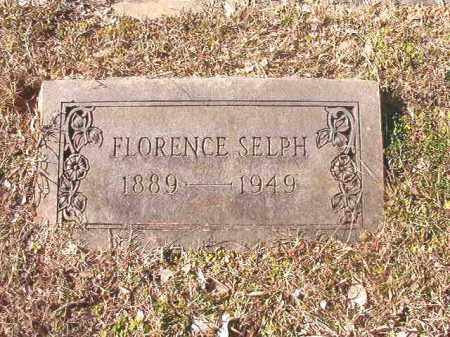 SELPH, FLORENCE - Dallas County, Arkansas | FLORENCE SELPH - Arkansas Gravestone Photos