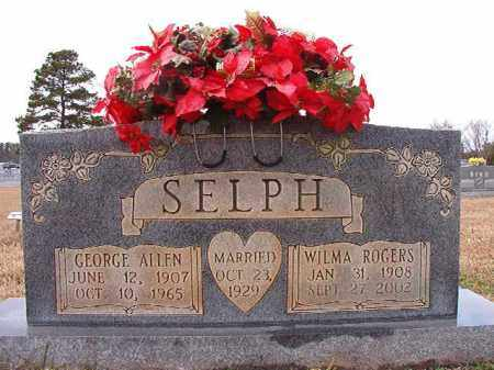 SELPH, GEORGE ALLEN - Dallas County, Arkansas | GEORGE ALLEN SELPH - Arkansas Gravestone Photos