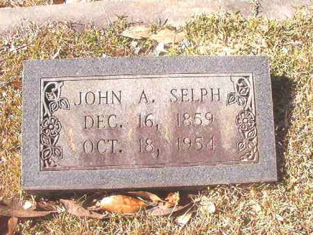 SELPH, JOHN A - Dallas County, Arkansas | JOHN A SELPH - Arkansas Gravestone Photos