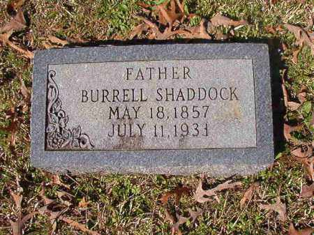 SHADDOCK, BURRELL - Dallas County, Arkansas | BURRELL SHADDOCK - Arkansas Gravestone Photos