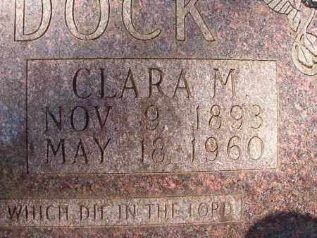 SHADDOCK, CLARA M - Dallas County, Arkansas | CLARA M SHADDOCK - Arkansas Gravestone Photos