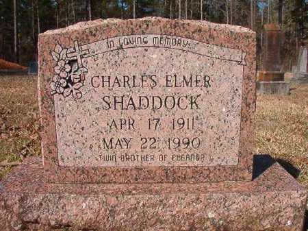 SHADDOCK, CHARLES ELMER - Dallas County, Arkansas | CHARLES ELMER SHADDOCK - Arkansas Gravestone Photos