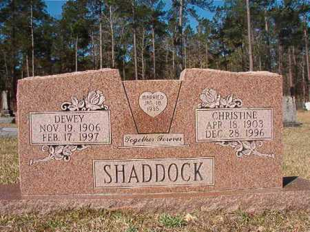 SHADDOCK, DEWEY - Dallas County, Arkansas | DEWEY SHADDOCK - Arkansas Gravestone Photos