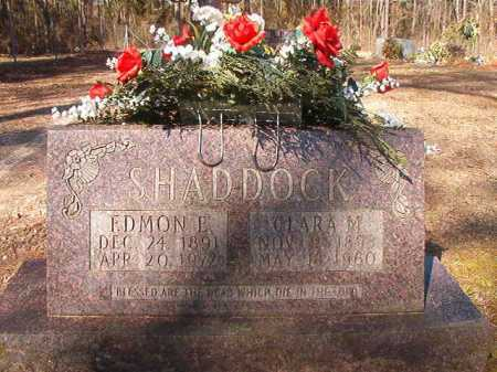 SHADDOCK, EDMON E - Dallas County, Arkansas | EDMON E SHADDOCK - Arkansas Gravestone Photos