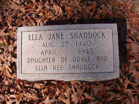 SHADDOCK, ELLA JANE - Dallas County, Arkansas | ELLA JANE SHADDOCK - Arkansas Gravestone Photos
