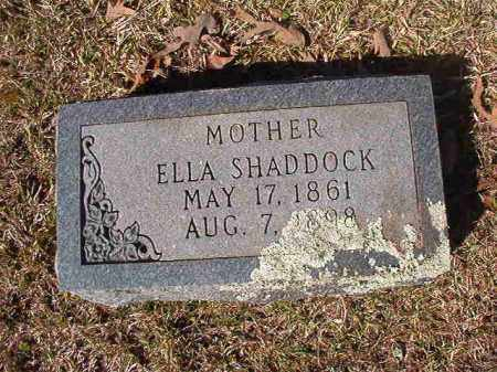 SHADDOCK, ELLA - Dallas County, Arkansas | ELLA SHADDOCK - Arkansas Gravestone Photos
