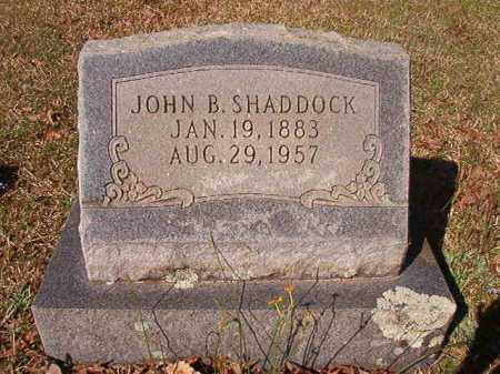 SHADDOCK, JOHN B - Dallas County, Arkansas | JOHN B SHADDOCK - Arkansas Gravestone Photos