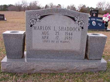 SHADDOCK, MARLON L - Dallas County, Arkansas   MARLON L SHADDOCK - Arkansas Gravestone Photos