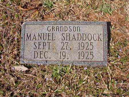 SHADDOCK, MANUEL - Dallas County, Arkansas | MANUEL SHADDOCK - Arkansas Gravestone Photos