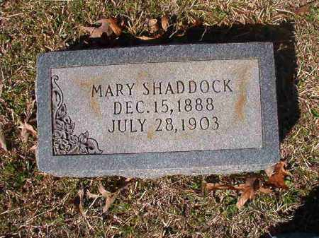 SHADDOCK, MARY - Dallas County, Arkansas | MARY SHADDOCK - Arkansas Gravestone Photos