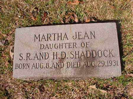 SHADDOCK, MARTHA JEAN - Dallas County, Arkansas | MARTHA JEAN SHADDOCK - Arkansas Gravestone Photos