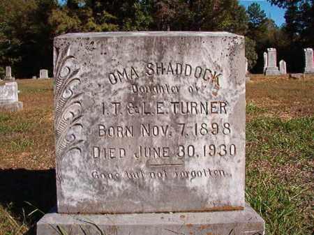 TURNER SHADDOCK, OMA - Dallas County, Arkansas | OMA TURNER SHADDOCK - Arkansas Gravestone Photos