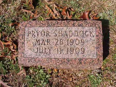 SHADDOCK, PRYOR - Dallas County, Arkansas | PRYOR SHADDOCK - Arkansas Gravestone Photos