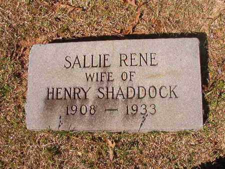 SHADDOCK, SALLIE RENE - Dallas County, Arkansas | SALLIE RENE SHADDOCK - Arkansas Gravestone Photos