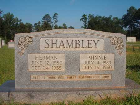 SHAMBLEY, MINNIE - Dallas County, Arkansas | MINNIE SHAMBLEY - Arkansas Gravestone Photos