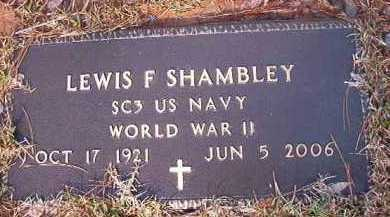 SHAMBLEY (VETERAN WWII), LEWIS F - Dallas County, Arkansas | LEWIS F SHAMBLEY (VETERAN WWII) - Arkansas Gravestone Photos