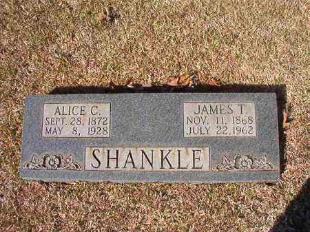 SHANKLE, ALICE C - Dallas County, Arkansas | ALICE C SHANKLE - Arkansas Gravestone Photos