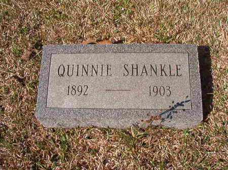 SHANKLE, QUINNIE - Dallas County, Arkansas | QUINNIE SHANKLE - Arkansas Gravestone Photos