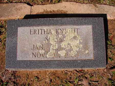KNIGHT SHELL, ERITHA - Dallas County, Arkansas | ERITHA KNIGHT SHELL - Arkansas Gravestone Photos
