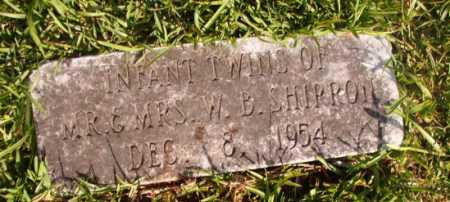 SHIRRON, INFANT TWINS - Dallas County, Arkansas | INFANT TWINS SHIRRON - Arkansas Gravestone Photos