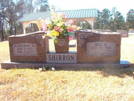 SHIRRON, KATHERINE H - Dallas County, Arkansas | KATHERINE H SHIRRON - Arkansas Gravestone Photos