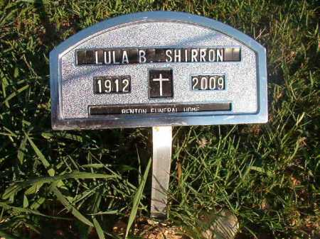 SHIRRON, LULA B - Dallas County, Arkansas | LULA B SHIRRON - Arkansas Gravestone Photos