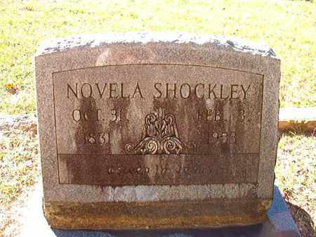 SHOCKLEY, NOVELA - Dallas County, Arkansas | NOVELA SHOCKLEY - Arkansas Gravestone Photos