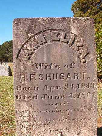 SHUGART, ANN ELIZA - Dallas County, Arkansas | ANN ELIZA SHUGART - Arkansas Gravestone Photos