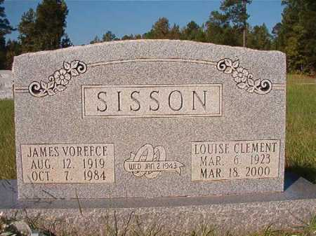 CLEMENT SISSON, LOUISE - Dallas County, Arkansas | LOUISE CLEMENT SISSON - Arkansas Gravestone Photos
