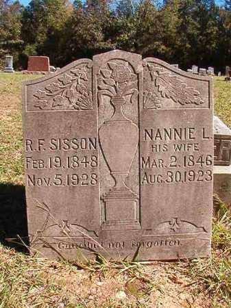 SISSON, NANNIE L - Dallas County, Arkansas | NANNIE L SISSON - Arkansas Gravestone Photos