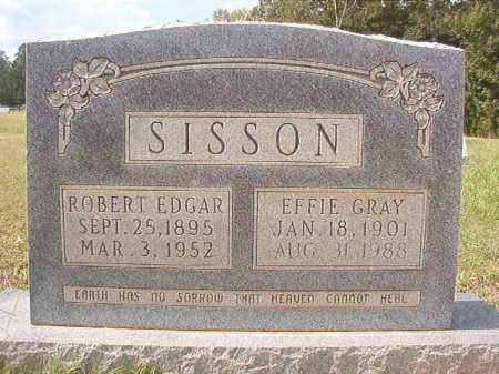 SISSON, ROBERT EDGAR - Dallas County, Arkansas | ROBERT EDGAR SISSON - Arkansas Gravestone Photos