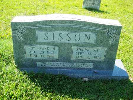 SISSON, ROY FRANKLIN - Dallas County, Arkansas | ROY FRANKLIN SISSON - Arkansas Gravestone Photos