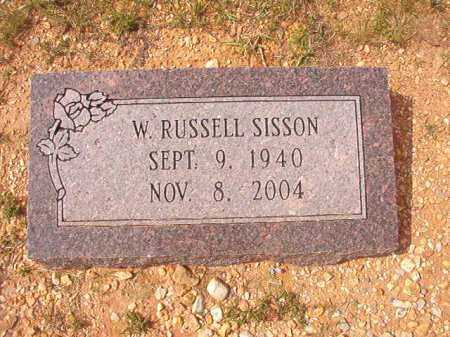 SISSON, W RUSSELL - Dallas County, Arkansas | W RUSSELL SISSON - Arkansas Gravestone Photos