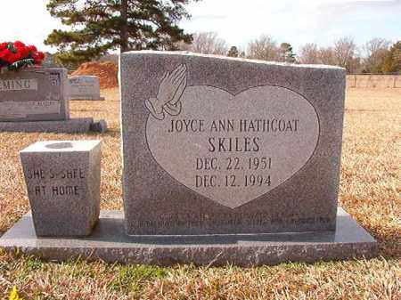 SKILES, JOYCE ANN - Dallas County, Arkansas | JOYCE ANN SKILES - Arkansas Gravestone Photos