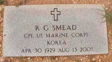 SMEAD (VETERAN KOR), R G - Dallas County, Arkansas | R G SMEAD (VETERAN KOR) - Arkansas Gravestone Photos