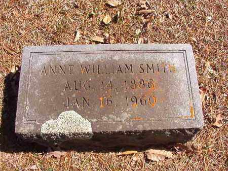 WILLIAM SMITH, ANNE - Dallas County, Arkansas | ANNE WILLIAM SMITH - Arkansas Gravestone Photos