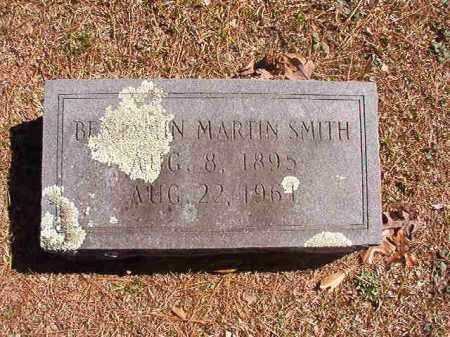 SMITH, BENJAMIN MARTIN - Dallas County, Arkansas | BENJAMIN MARTIN SMITH - Arkansas Gravestone Photos