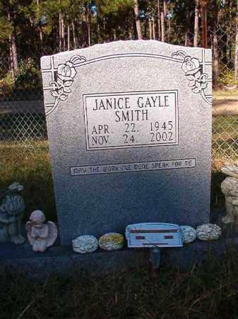 SMITH, JANICE GAYLE - Dallas County, Arkansas | JANICE GAYLE SMITH - Arkansas Gravestone Photos