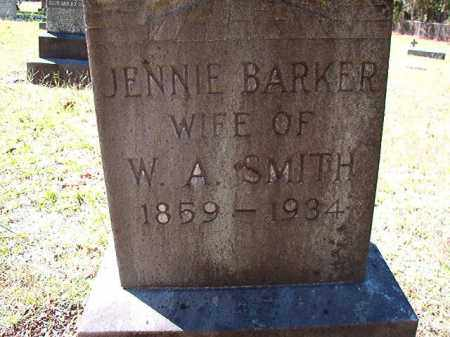 BARKER SMITH, JENNIE - Dallas County, Arkansas | JENNIE BARKER SMITH - Arkansas Gravestone Photos