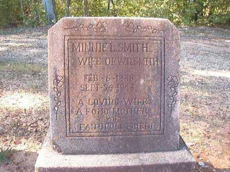 SMITH, MINNIE L - Dallas County, Arkansas | MINNIE L SMITH - Arkansas Gravestone Photos